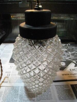 1960'sパイナップルペンダントライト  写真7枚目 アンティーク照明 ビンテージ ランプ