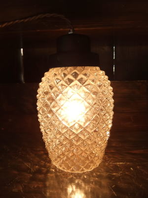 1960'sパイナップルペンダントライト  写真1枚目 アンティーク照明 ビンテージ ランプ
