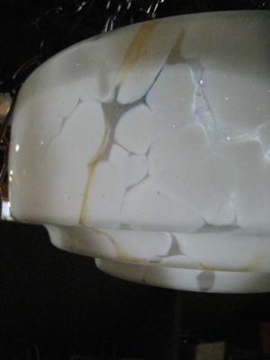1940'sマーブルハンギングライト 写真6枚目 アンティーク照明 ビンテージ ランプ