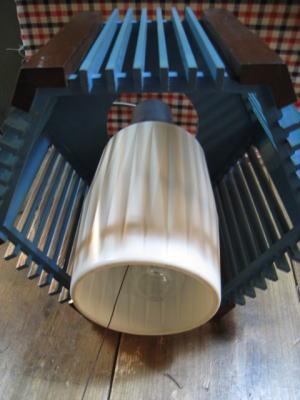 1960's木製ペンダントライト アンティーク照明 ランプ ビンテージ