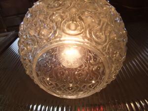 日本製 1970sアンティーク照明 ビンテージペンダントライト 幾何学模様 ランプ 福岡 写真7枚目