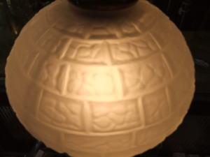 1970's擦りガラスペンダントライト 写真8枚目 アンティーク照明 ビンテージ ランプ
