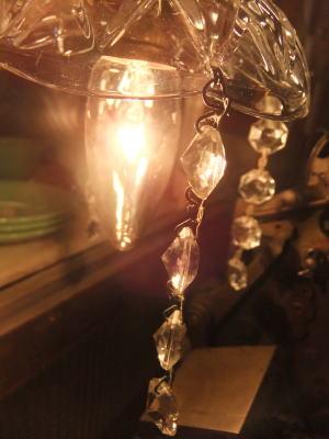 1960'sフレンチペンダントライト 写真5枚目 アンティーク照明 ビンテージ ランプ