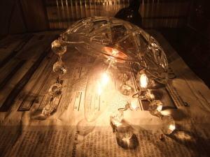 1960'sフレンチペンダントライト 写真8枚目 アンティーク照明 ビンテージ ランプ