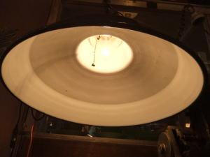 日本製 1970sアンティーク照明 ビンテージポーセリンペンダントライト 琺瑯 ランプ 福岡 写真6枚目