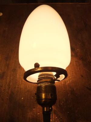 1980'sミルクペンダントライト 写真6枚目 アンティーク照明 ビンテージ ランプ 福岡