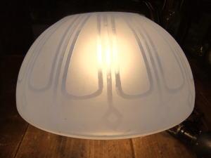 大正ロマンブルーペンダントライト 写真1枚目 アンティーク照明 ビンテージ ランプ 福岡