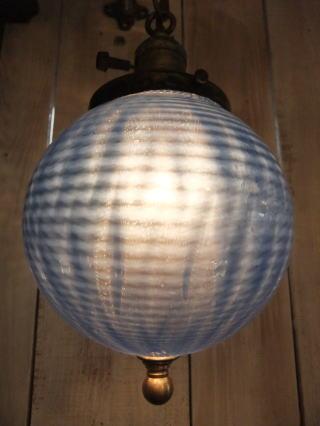 アメリカンボールペンダントライト 2枚目の写真 アンティーク照明 ランプ 福岡