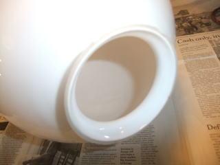 ミルクボールペンダントライト 7枚目の写真 アンティーク照明 ランプ 福岡