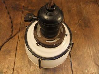 和風セルロイドペンダントライト 写真8枚目 アンティーク照明 ビンテージ ランプ 福岡