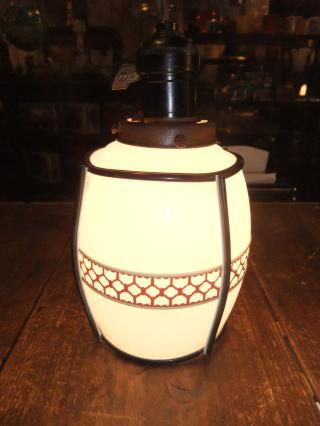 和風セルロイドペンダントライト 写真6枚目 アンティーク照明 ビンテージ ランプ 福岡