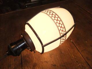 和風セルロイドペンダントライト 写真7枚目 アンティーク照明 ビンテージ ランプ 福岡