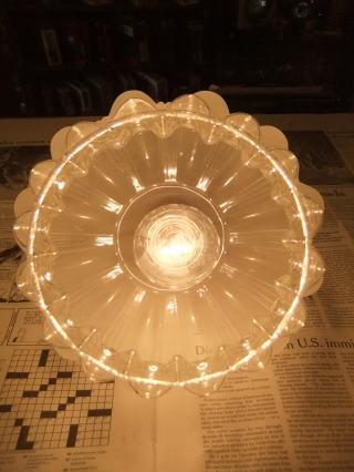 ロマンチック擦りガラスペンダントライト 2枚目の写真 アンティーク照明 ランプ 福岡