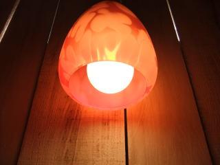 日本製 1950sアンティーク照明 ビンテージペンダントライト パッションカラーランプ 福岡 写真9枚目