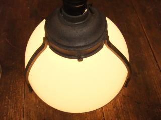 1920's和風透かしペンダントライト アンティーク照明 ランプ ビンテージ