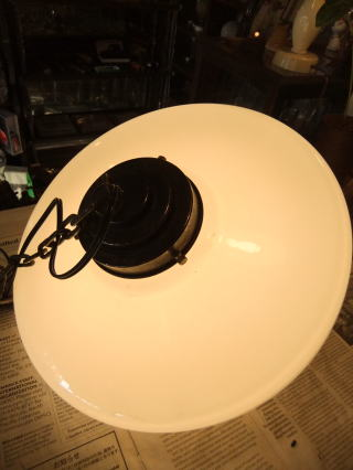 シェル型ペンダントライト アンティーク照明 ランプ ビンテージ