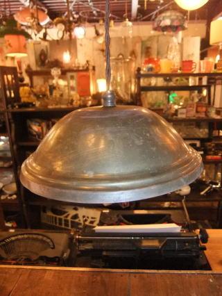 真鍮ペンダントライト  アンティーク照明 ビンテージ ランプ