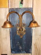 1970sイタリア製2灯ブラケットライト アンティーク照明 ビンテージ ランプ 福岡