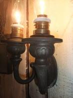 1900s米国製 真鍮製ブラケットライト アンティーク照明 ビンテージ ランプ 福岡