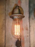 1920s米国製 ベル型ブラケットライト アンティーク照明 ビンテージ ランプ 福岡