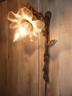 1920sフランス製腐食ガラスブラケットライト アンティーク照明 ビンテージ ランプ 福岡