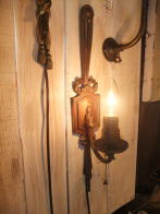 1920s米国製ブラケットキャンドルライト アンティーク照明 ビンテージ ランプ 福岡