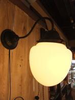 1930s日本製ミルクガラスブラケットライト アンティーク照明 ビンテージ ランプ 福岡