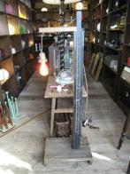 日本製 1930s木製アンティーク照明 オリジナルライト ビンテージライト ランプ 福岡