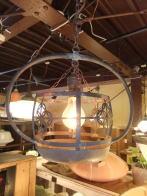 日本製 和風アンティーク照明 銅製オリジナルライト ビンテージライト ランプ 福岡