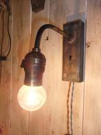 アンティークオリジナルブラケット1照明 オリジナルライト ビンテージライト ランプ 福岡