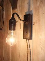 日本製 アンティークオリジナルブラケット3照明 オリジナルライト ビンテージライト ランプ 福岡