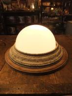 日本製 1940sアンティーク照明 天井灯 オリジナルライト ビンテージライト ランプ 福岡