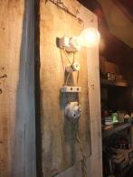 日本製 1930sアンティーク照明 スイッチボードライトオリジナル ビンテージ ランプ 福岡