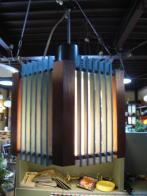 日本製 1960sアンティーク照明 ビンテージ木製ペンダントライト ランプ 福岡