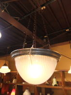 日本製 1940sアンティーク照明 ビンテージハンギングライト ランプ 福岡