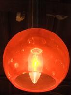日本製 1960s アンティーク照明 オレンジペンダントライト ランプ 福岡