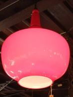 日本製 1970sアンティーク照明 レッドシェードペンダントライト ランプ 福岡