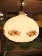 日本製 1970sアンティーク照明 ビンテージ花柄ペンダントライト ランプ 福岡