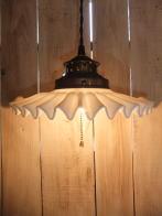 米国製 1970sアンティーク照明 ビンテージペチコートペンダントライト ランプ 福岡