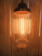 米国製 1970sアールデコシェード アンティーク照明 ビンテージペンダントライ ランプ 福岡