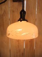 日本製 1920s和風アンティーク照明 ビンテージペンダントライト 切子 ランプ 福岡