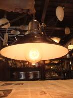 米国製 1960sアンティーク照明 ビンテージペンダントライト 米軍 ランプ 福岡