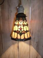ステンドグラスペンダント アンティーク照明 ビンテージ 真鍮製 ランプ カスタム 福岡