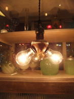 米国製 1920sアンティーク照明 ベンジャミンスタイル インダストリアル ビンテージライト ランプ 福岡