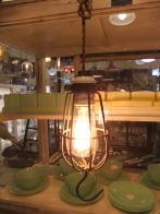 米国製 1950sアンティーク照明 ゲージランプ インダストリアル ビンテージライト ランプ 福岡
