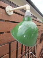 アメリカ1950sアンティーク照明 琺瑯シェード インダストリアル ビンテージライト ランプ 福岡