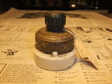 アンティーク照明用ウオールスイッチ小078 ビンテージライト ランプ 福岡