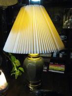米国製1970s磁器製スタンドライト アンティーク照明 ビンテージライト デスクランプ 福岡