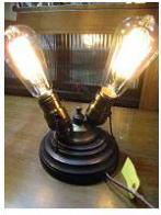 米国製1940sカスタムスタンドライト アンティーク照明 ビンテージライト デスクランプ 福岡
