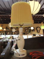 日本製 1960s ボーリングスタンドライト アンティーク照明 ビンテージライト デスクランプ 福岡